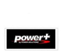 POWER+ BY POWER SOLUTIONS