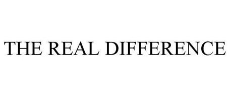 THE REAL DIFFERENCE