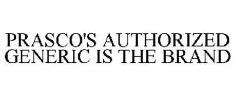 PRASCO'S AUTHORIZED GENERIC IS THE BRAND