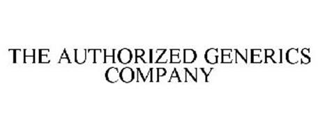 THE AUTHORIZED GENERICS COMPANY