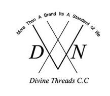 MORE THAN A BRAND ITS A STANDARD OF LIFE DIVINE THREADS C.C D N II V E