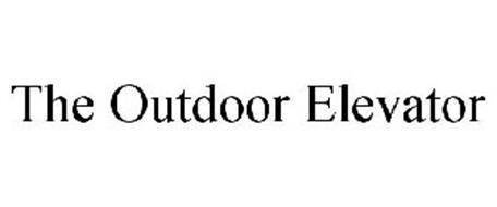 THE OUTDOOR ELEVATOR