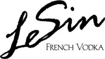 LESIN FRENCH VODKA