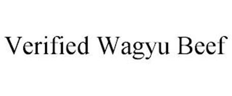 VERIFIED WAGYU BEEF
