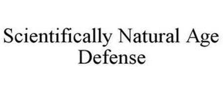 SCIENTIFICALLY NATURAL AGE DEFENSE