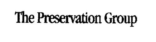 THE PRESERVATION GROUP