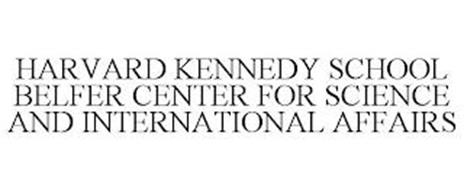 HARVARD KENNEDY SCHOOL BELFER CENTER FOR SCIENCE AND INTERNATIONAL AFFAIRS