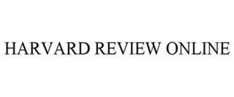HARVARD REVIEW ONLINE