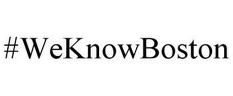 #WEKNOWBOSTON