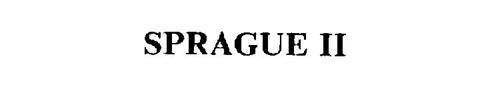 SPRAGUE II
