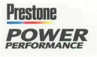 PRESTONE POWER PERFORMANCE