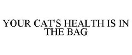 YOUR CAT'S HEALTH IS IN THE BAG.