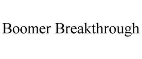 BOOMER BREAKTHROUGH