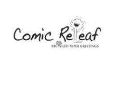 COMIC RELEAF RECYCLED PAPER GREETINGS