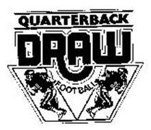 QUARTERBACK DRAW FOOTBALL