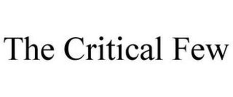 THE CRITICAL FEW