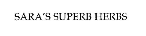 SARA'S SUPERB HERBS