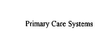 PRIMARY CARE SYSTEMS
