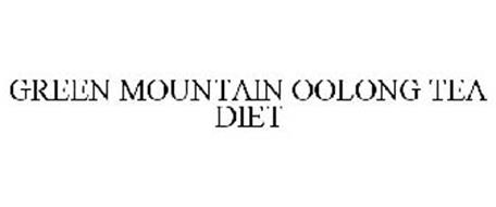 GREEN MOUNTAIN OOLONG TEA DIET