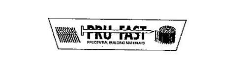 PRU FAST PRUDENTIAL BUILDING MATERIALS