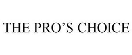 THE PRO'S CHOICE
