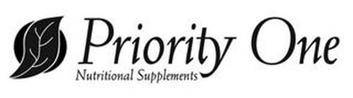 PRIORITY ONE NUTRITIONAL SUPPLEMENTS