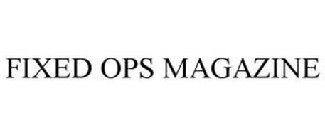 FIXED OPS MAGAZINE