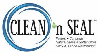 CLEAN 'N SEAL PAVERS · CONCRETE NATURAL STONE · GUTTER GLOVE DECK & FENCE RESTORATION