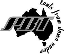 PBT TOOLS FROM DOWN UNDER