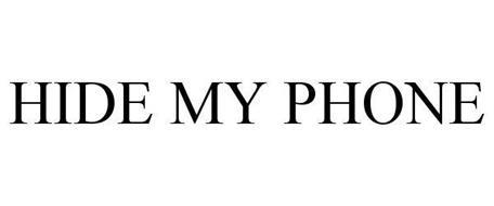 HIDE MY PHONE