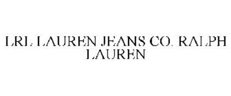 LRL LAUREN JEANS CO. RALPH LAUREN