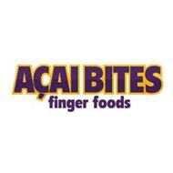AÇAI BITES FINGER FOODS
