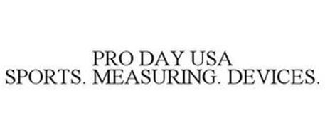 PRO DAY USA SPORTS. MEASURING. DEVICES.