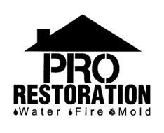 PRO RESTORATION WATER FIRE MOLD