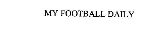 MY FOOTBALL DAILY