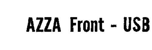 AZZA FRONT- USB