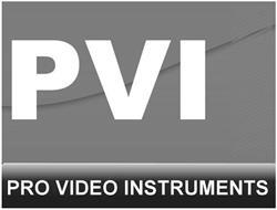 PVI PRO VIDEO INSTRUMENTS