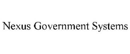 NEXUS GOVERNMENT SYSTEMS
