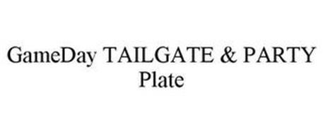 GAMEDAY TAILGATE & PARTY PLATE