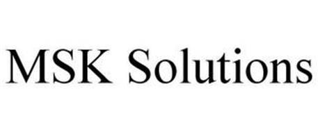 MSK SOLUTIONS