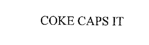 COKE CAPS IT
