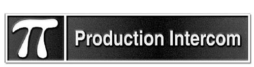 PRODUCTION INTERCOM
