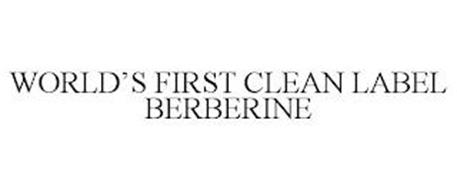 WORLD'S FIRST CLEAN LABEL BERBERINE