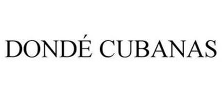 DONDÉ CUBANAS