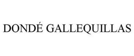 DONDÉ GALLEQUILLAS