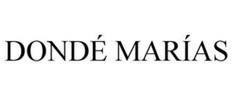 DONDÉ MARÍAS