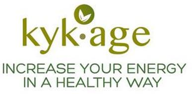 KYK · AGE INCREASE YOUR ENERGY IN A HEALTHY WAY
