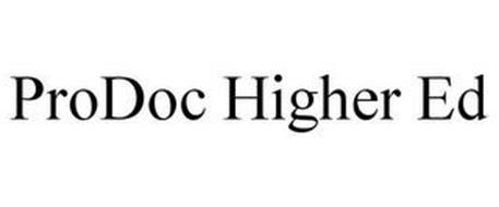 PRODOC HIGHER ED