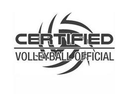 CERTIFIED VOLLEYBALL OFFICIAL