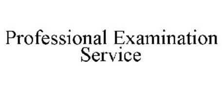 PROFESSIONAL EXAMINATION SERVICE